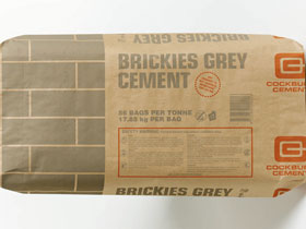 Brickies Grey